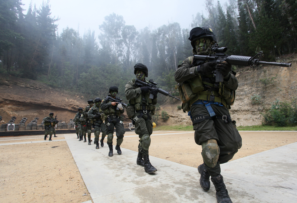 Colombian Armed Forces. 7